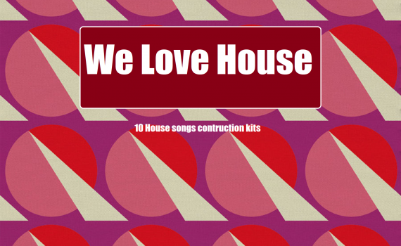 We Love House sample pack