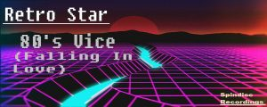80's vice song banner