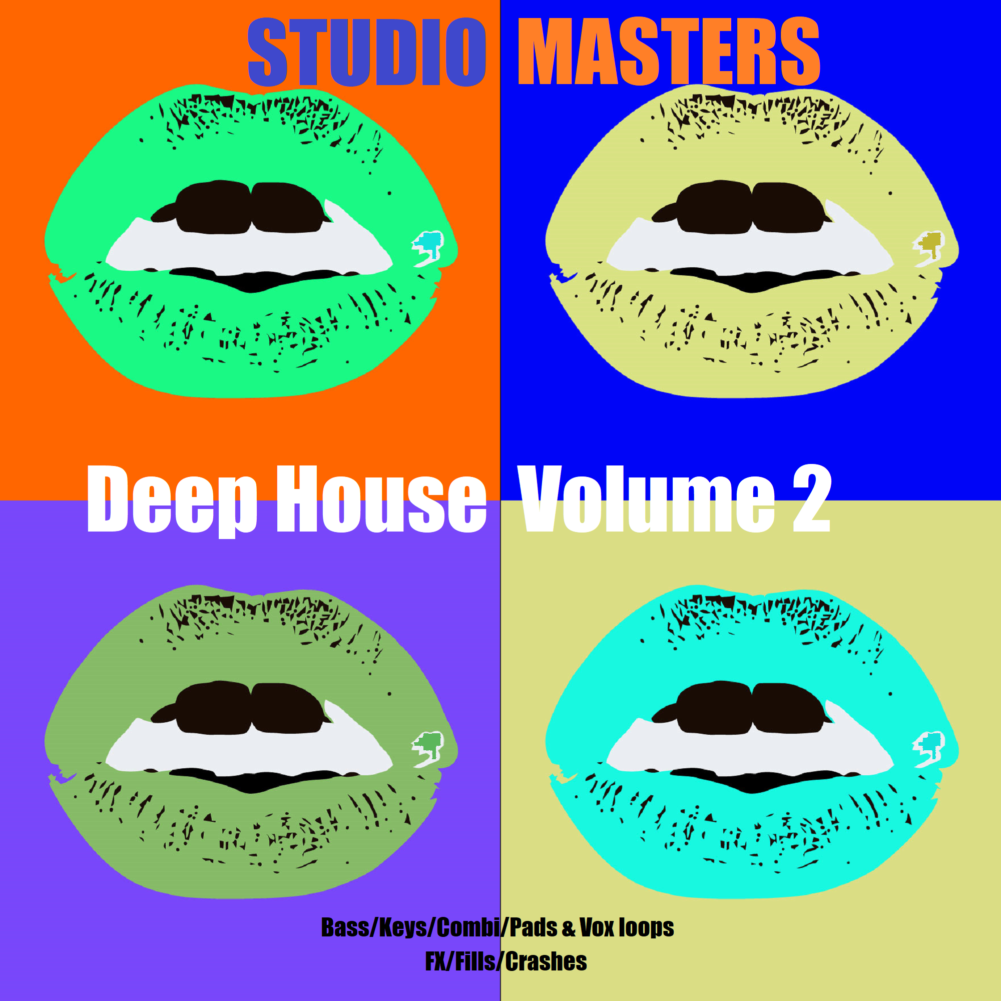 Deep house volume 2 sample pack spindisc recordings for Deep house covers